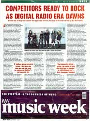 Music Week Front press coverage